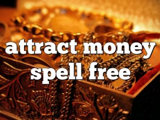 Spell to Attract Customers